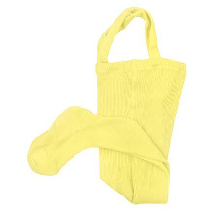 Pančušky na traky - žlté