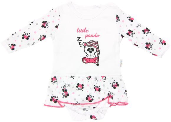 Mamatti dievčenské body so sukňou - Panda